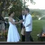 Bradley and Susannah get married 9/6/09 (YouTube Video)